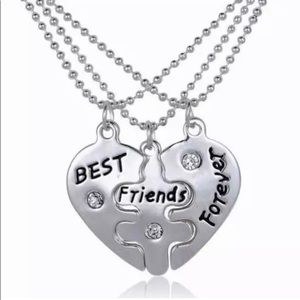 BFF Best Friends Forever Fashion Necklaces Three